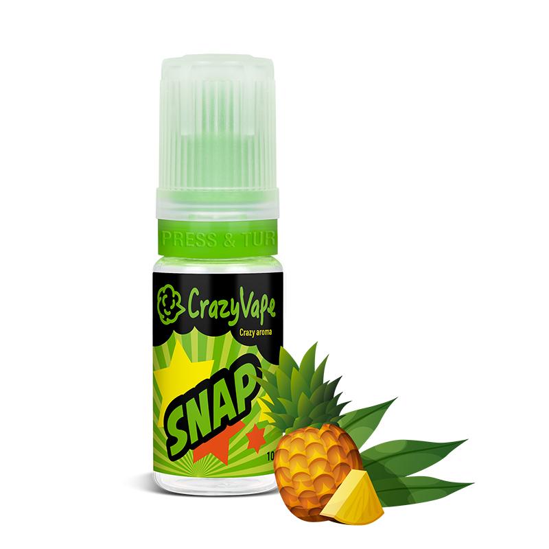 CrazyVape příchuť SNAP (Zelený čaj s ananasem)
