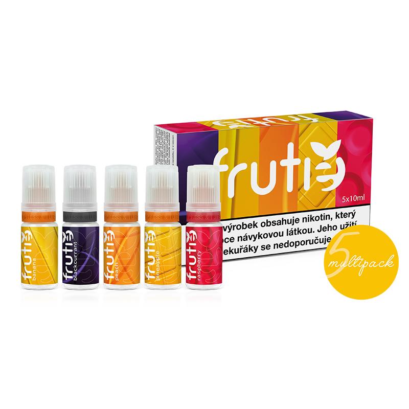Frutie - Variety Pack Tetra - 5x10ml