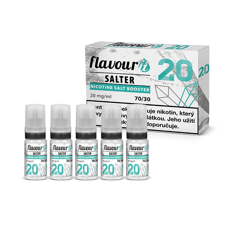 Flavourit Salter - 70/30 20mg, 5x10ml