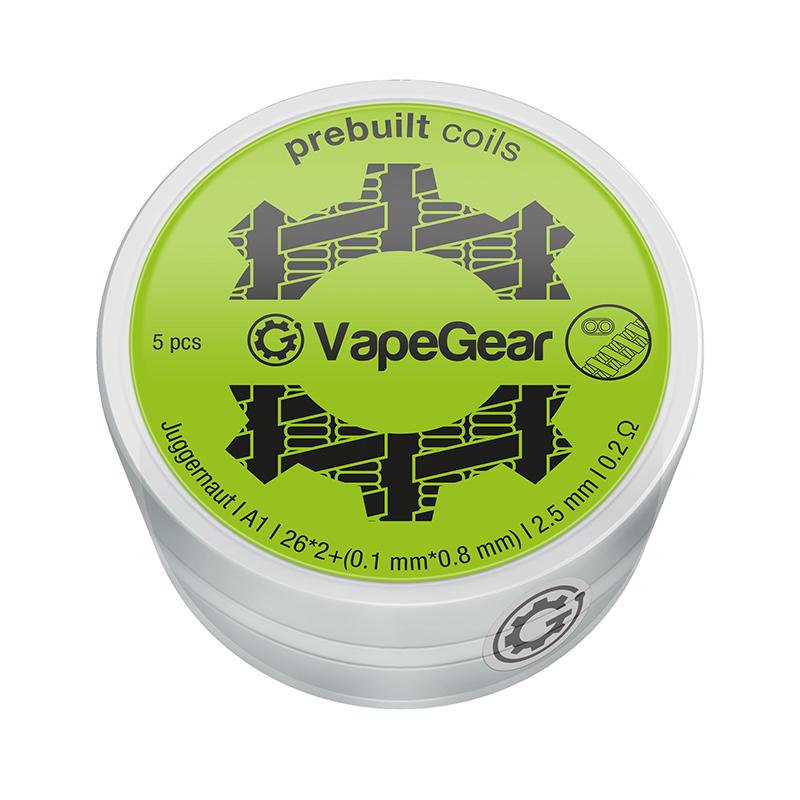 VapeGear předmotané spirálky - Juggernaut