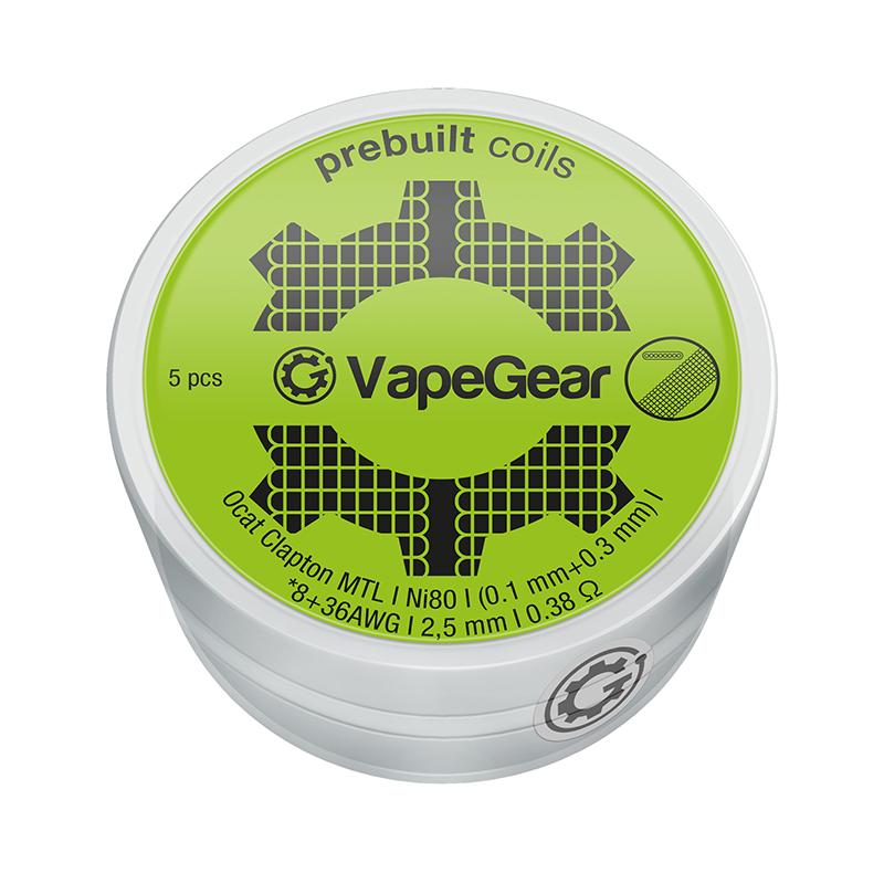 VapeGear předmotané spirálky - Ocat Clapton