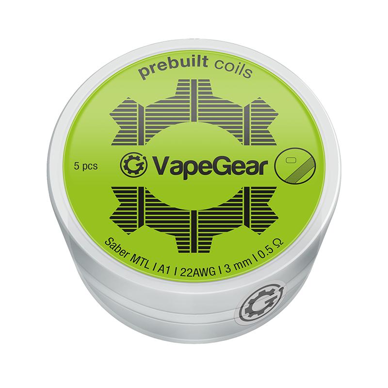 VapeGear předmotané spirálky - Saber