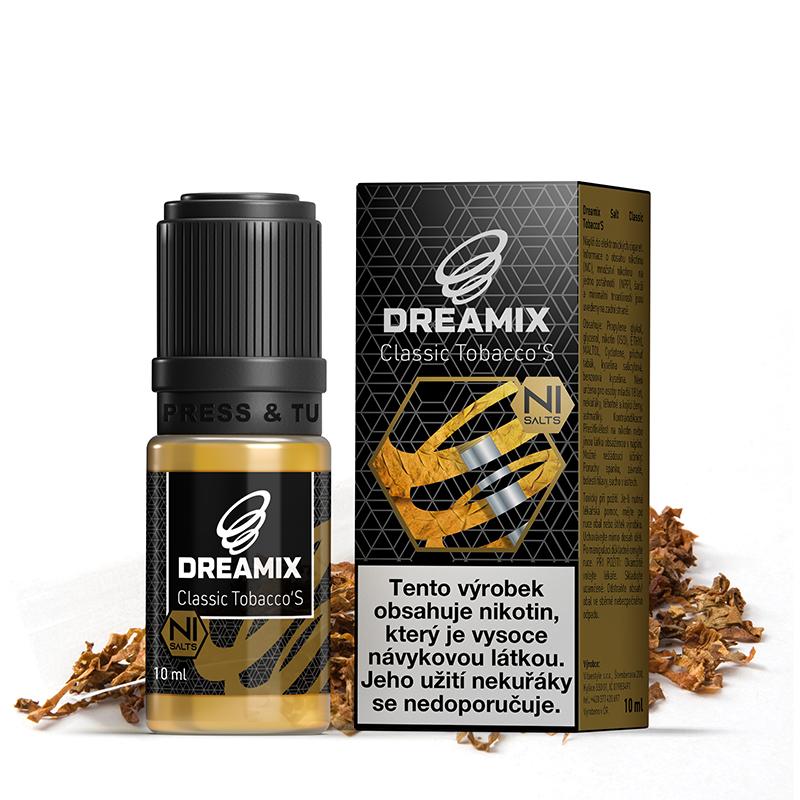 Dreamix SALT Klasický tabák (Classic Tobacco'S)