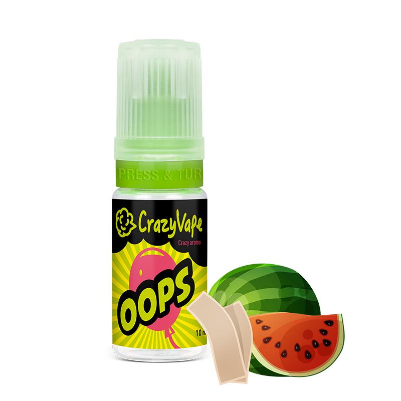 CrazyVape příchuť OOPS (Melounová žvýkačka)